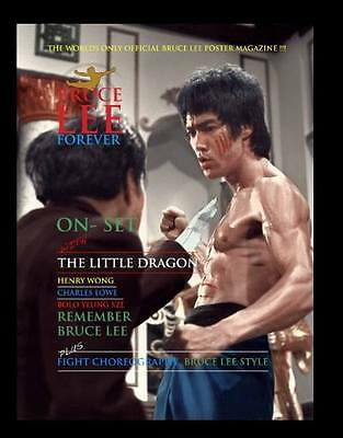 """Pre Order Bruce Lee Forever – January Issue 2017 """"On Set With The Little Dragon"""""""