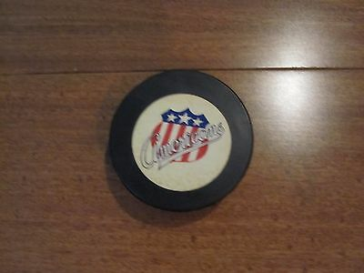 Vintage American Hockey League puck, Rochester Americans - Official