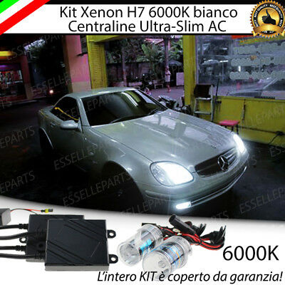 Kit Xenon Xeno H7 Ac 6000K 35W Specifico Mercedes Slk R170 No Error Garanzia