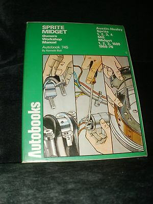 Mg Sprite And Midget Workshop Manual 1958 To 1976