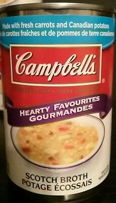 Campbell's Condensed Scotch Broth Soup 3 cans Last Amounts Available Anywhere