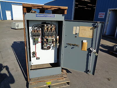 Square D Size 5 & 4   Motor Control Starter Class 8536 Size 5   75 Hp 220 V -New