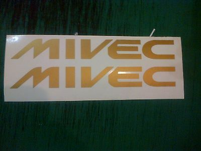 Mivec FTO GPX GR GS 200mm Decals Stickers any colour