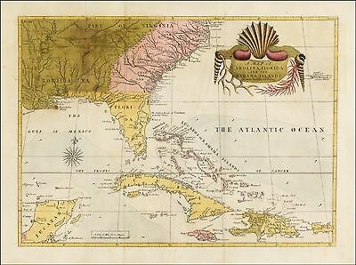 Carolina, Florida and the Bahama Islands 1743