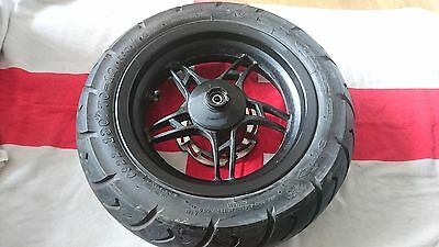 Wk 125 Wasp Scooter Front Wheel Rim Alloy Brake Disc Tyre 130/70-12 Tyre Disc