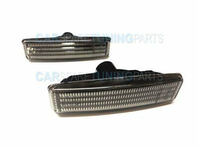 Bmw 5 E39 Side Repeaters Indicators Turn Side Markers M5 Tuning Smoke Black Set