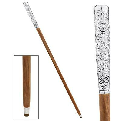 FANCY HANDLE WALKING STICK DESIGN TOSCANO dandy fellow  walking stick  can