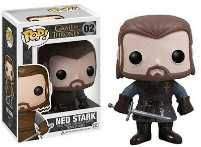 Game Of Thrones - Ned Stark - Funko Pop! Television (2012, Toy NEU)