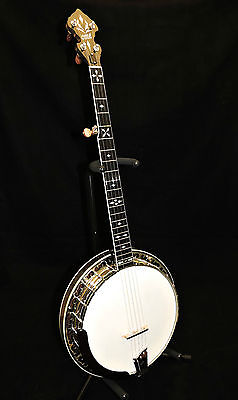 Used Ome Southern Cross Hg 50 Bluegrass Banjo With Case Authorized Dealer
