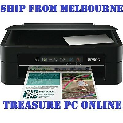 NEW Epson Expression Home XP-220 Small-in-One Color Printer Print Copy Scan WiFi