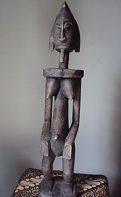 ROYAL DOGON Mother and Child African Carving Statue!!