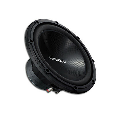 "Kenwood Kfc-Mw3000 1200W 12"" Inch Free Air Subwoofer 300W Rms Car Sub Stereo New"