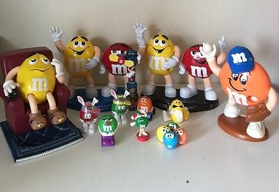 M&M Collection Lot Of Dispensers And Collectibles