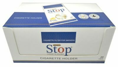 NICFREE Premium Cigarette Filters 600 FILTERS 20 Packs FREE SHIPPING