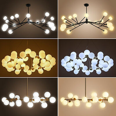 Modern Modo 25 Glass DNA LED Round Chandelier Pendant Lamp Ceiling lamp Fixture