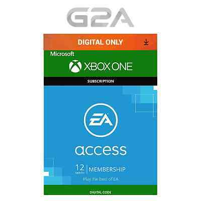 EA Access [Xbox One] 12 Month Subscription Digital Code Microsoft Xbox Live Key