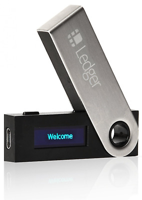 Ledger Nano S Hardware Cryptocurrency Wallet Brand New Factory Sealed