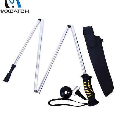 Maxcatch Folding WADING STAFF with Neoprene Pouch Fly Fishing