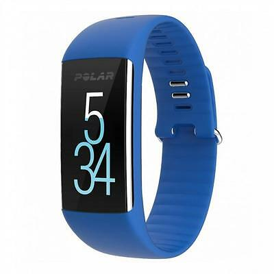 Polar A360 Fitness Tracker with Wrist Heart Rate Monitor - Blue (M) - 90057447