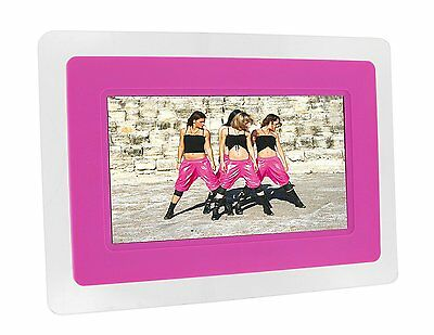 Kitvision 7 inch Digital Photo Frame with Stand - Pink