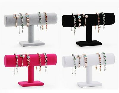 Simple Suede Holders Accessory Watches Bracelets Jewelry Shelves Organizers