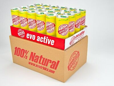 24x evo ACTIVE á 250 ml. - 100%Natural Das ORIGINAL Versandkostenfrei EvoDrinks
