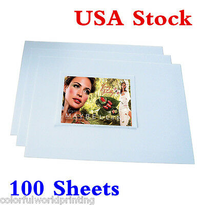 USA!!! 100 Sheets A4 Dye Sublimation Heat Transfer Paper for Mugs Plates Tiles