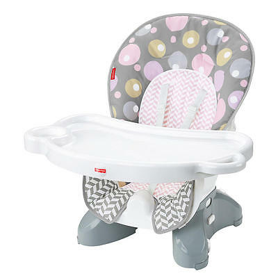 Fisher-Price SpaceSaver High Chair Seat Pad - Brilliant Blush