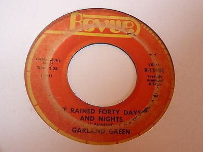 Garland Green - It Rained 40 Days & Nights - Revue - Northern Soul - MP3