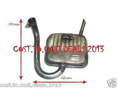 Vespa Sprint - High Quality Complete Exhaust SILENCER BRAND NEW