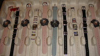 TRADE ONLY JOB LOT OF 10 X new MIXED  PAMELA ANDERSON WATCHES 100%. GEN<,.