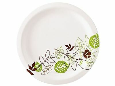 "New 1000 Pack Dixie Pathways UX7PATH 7"" Paper Plates 8X 125 Packs Carton Medium"