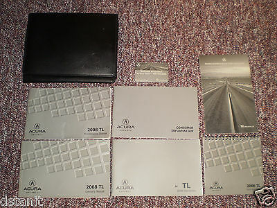 2008 Acura Tl Car Owners Manual Books Guide Case All Models