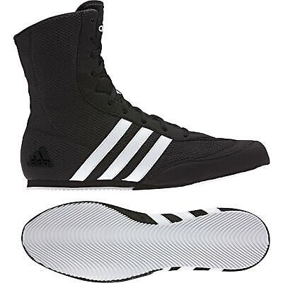 Adidas Boxing Boots Box Hog 2 Shoes Trainers Black White Adult Mens