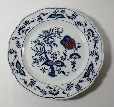 Mascot Japan COLORED BLUE DANUBE Pattern #99183 DINNER PLATE 10-1/4""