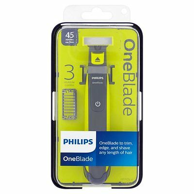 Phillips OneBlade To Trim, Edge and Shave Any Length Of Hair