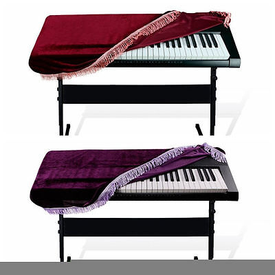 Electronic Keyboard Dust Cover On Stage Storage Bag Lightweight for 61 Key Piano