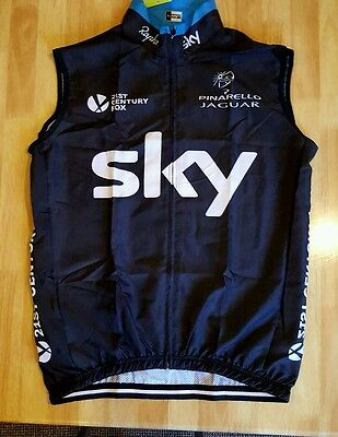 Mens Cycling Vest Windbreaker XL body warmer