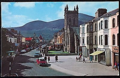 Main Street Newcastle Co Down Postcard Northern Ireland