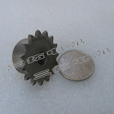 "1Pcs 1/4"" 10/13/15/20/25/30Tooth Chain Sprocket Pitch 6.35mm For #25 04C Chain"
