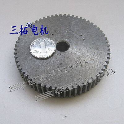 1Pcs Motor Spur Gear 1.5Mod 60Tooth Outer Diameter 62mm Bore 12mm Thickness 18mm