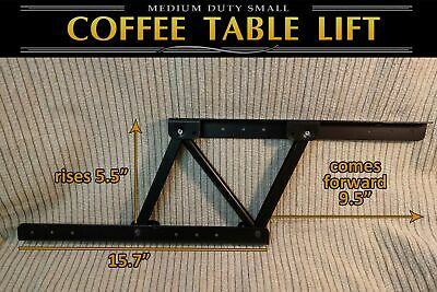 Lift Top Coffee Table Mechanism DIY Hardware Lift Up Furniture Hinge Spring F