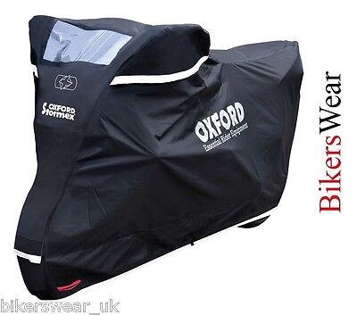 Oxford Stormex Ultimate Weather Motorcycle Bike Rain Outdoor Cover EXTRA LARGE !