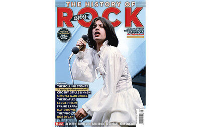 Uncut - The History Of Rock - Issue 5 (1969) Stones, Csny, Beatles, Led Zep, Who