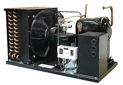 Outdoor LD AWA2440ZXD Condensing Unit 1 HP, Low Temp R404A, 220V/1PH (USA)