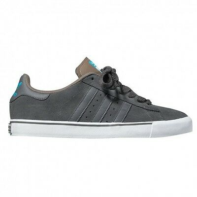 differently 0b57e 8d073 Adidas CAMPUS VULC Dark Cinder Cyan Gray Blue Skate Discounted (181) Men s  Shoes