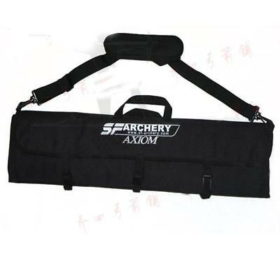 New Archery Recurve Bow Bag Takedown Hunting Portable Traditional Carry Case Red