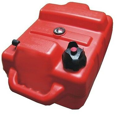 BluSkies BS-6GAS 6 Gallon Plastic Portable Boat Gas Tank EPA Compliant