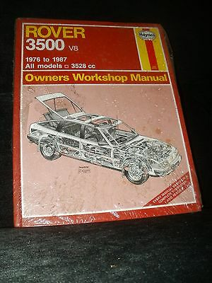 Rover 3500 V8 Sd1 Workshop Manual 1976 To 1987