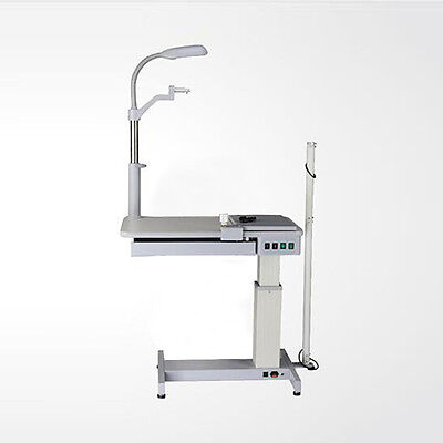 ST 220V Optometry Ophthalmic Eyeglass Test Stand Optometrist Combined Table New